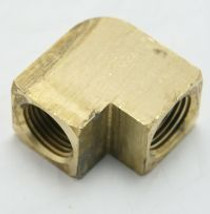 Brass Pipe Elbow 90 Union Reducing 3/8 Fnpt To 1/4 Fnpt