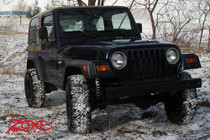 "1997-02 Jeep Wrangler TJ 2"" Spacer Lift Kit With Nitro Shocks"