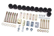 "1997-02 Jeep Wrangler TJ 1.25"" Body Lift Kit"