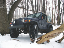 "1997-02 Jeep Wrangler TJ 4"" Coil Lift Kit"