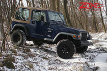"1997-02 Jeep Wrangler TJ 2"" Spacer Lift Kit"