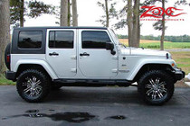 "2007-10 Jeep Wrangler JK 4 Door 2"" Spacer Lift Kit"