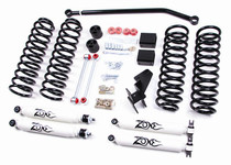 "2007-10 Jeep Wrangler JK 2 Door 4"" Coil Lift Kit With Nitro Shocks"