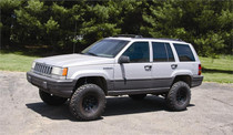 "1993-1998 Jeep Grand Cherokee ZJ 4"" Coil Lift Kit"