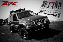 "1999-2004 Jeep Grand Cherokee WJ 4"" Coil Lift Kit With Nitro Shocks"
