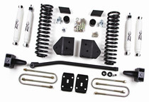 "2011 F250, F350 Super Duty Gas 4WD W/O Top Overload Springs 4"" Lift Kit"