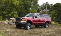 "2000-05 Ford Excursion 4WD 6"" Lift Kit With Nitro Shocks"