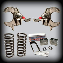 "1982-2004 S10 & SONOMA 4""F- 4""R LOWERING KIT"