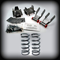 "82-95 Astro & Safari 2""F COILS-3""R LOWERING KIT"
