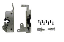 Large Heavy Duty Dual Claw Door Latches with Striker Bolts