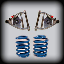 "63-72 C-10 3"" Front 4"" Rear Lowering Kit W/ Control Arms and Springs"