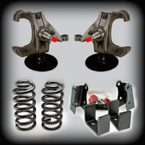 """73-87 C-10,5""""Front Lowering Spindles&Coil Springs,5""""Rr Flip,w/1.25""""Rotor"""