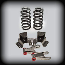 "73-87 C-10 2"" Front Springs 4"" Shackles & Hangers"