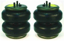 """2 Pack of Firestone 2500lb. Double Convoluted Air Bag 3/8"""" Port"""
