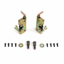 Locking Large Bear Claw Door Latch Set
