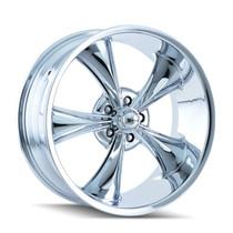 Ridler 695 Series Wheels Chrome 17X8 5 X 120.65