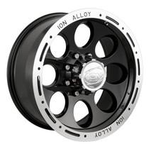 Ion Alloy 174 Series Wheels Black 15X10 5 x 127