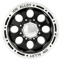 Ion Alloy 174 Series Wheels Black 15X10 6 x 139.7