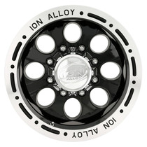 Ion Alloy 174 Series Wheels Black 15X8 6 x 139.7