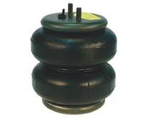 "Firestone 2500lb. Double Convoluted Air Bag 3/8"" Port"