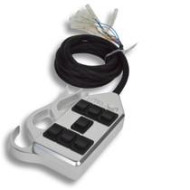 AVS ARC-7 Switch Rocker Series Flame Billet
