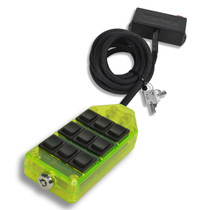 AVS ARC-9 Switch Rocker Series Green w/Lock