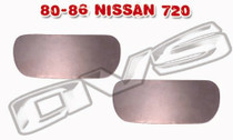 80-86 Nissan 720 AVS Door Handle Filler Plate