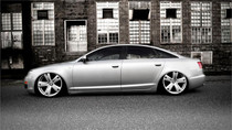 2003-2011 Audi A6 Air Lift Kit w/Manual Air Management - side view