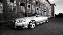 2003-2011 Audi A6 Air Lift Kit w/Manual Air Management - front view