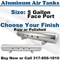 Air Lift 11956 Aluminum Air Tank polished or raw