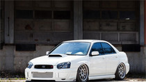 2002-2008 Subaru Air Lift Kit with Manual Air Management