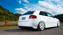 07-17 VW/06-14 Audi Air Lift Kit w/Manual Air Management w/ No Shocks