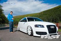 07-17 VW/06-14 Audi Air Lift Kit w/Manual Air Management w/ No Shocks