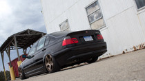 1999-2006 BMW 3-Series Air Lift Kit with Manual Air Management - rear view