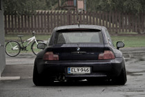 82-98 BMW 3-Series/96-02 BMW Z3 Air Lift Kit w/Manual Air Management- Back View