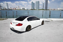 2008-2018 Infiniti G37/Nissan 370Z Air Lift Kit with Manual Air Management- Rear/Side View