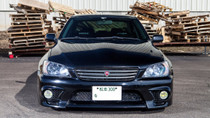 98-05 Lexus GS Series Air Lift Kit with Manual Air Management- Front View