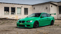 2007-2013 BMW M3/1M Air Lift Kit with Manual Air Management- Side View