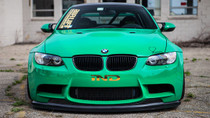 2007-2013 BMW M3/1M Air Lift Kit with Manual Air Management w/ NO Shocks- Front View