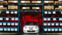 04-09 Mazda3 / 06-13 Volvo C30 Air Lift Kit with Manual Air Management- Front View