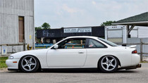 1995-2000 Nissan 240SX/Silvia (USA) Air Lift Kit with Manual Air Management- Side View