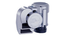Chrome Dual Tone Motorcycle Electric Air Horn