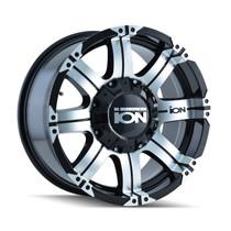 ION 187 Black/Machined 18X9 8-165.1/8-170 -12mm 130.8mm