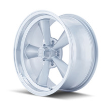 Ridler 675 Silver/Machined Lip 17X8 5-120.65 0mm 83.82mm