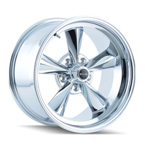 Ridler 675 Chrome 17X9.5 5-120.65 -5mm 83.82mm