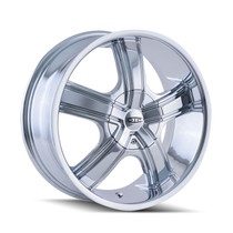 DIP D69 Boost Chrome 18x7.5 5-110/5-115 40mm 72.62mm