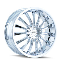 DIP D50 Hype Chrome 22x8.5 5-110/5-115 35mm 72.62mm
