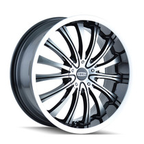 DIP D50 Hype Black/Machined 20x8.5 5-112/5-120 40mm 72.62mm