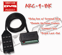 AVS ARC-9 Switch Rocker Series Black w/Lock