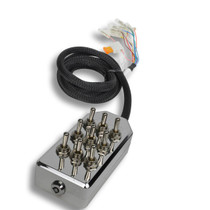 AVS ARC-9 Switch Toggle Series Chrome